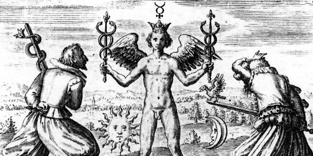 sofos symbole alchimique de la lune et soleil